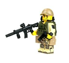 Marine Raider Special Forces Minifigure (SKU61) made with real LEGO® minifigure