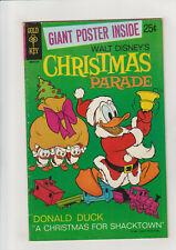 Christmas Parade 8 VG 1971 Gold Key Comic Donald Duck  No Poster