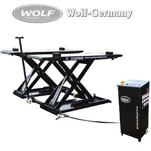 Mobile Pont Élévateur Ascenseurs 3000KG Wolf Allemagne