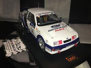 1:18 IXO Carlos Sainz Ford Sierra RS Cosworth #14 1000 Lakes Rally (Finland)1988