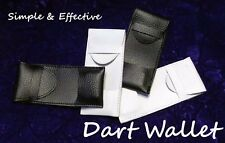 New Compact Dart Wallet - Holds One Set of Darts - Dart Case - Black-US Seller