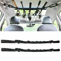 2Pcs Vehicle Fishing Rod Holder Car Mounted Storage Rack Fishing Gear Quality