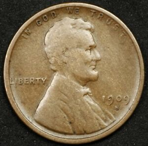 PARTING OUT SET! BEAUTIFUL KEY DATE 1909-S LINCOLN CENT. NO RESERVE!