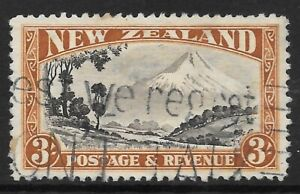 NEW ZEALAND 1941 3s P.12 1/2, FU slogan cancel, SG 590b. Cat.£50.