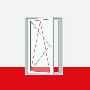 Kunststofffenster mit Lüftung Dreh-Kipp Fenster mit REGEL-air Falzlüfter