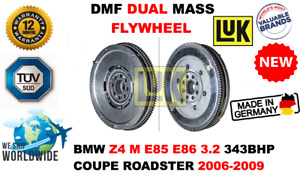 FOR BMW Z4 M E85 E86 3.2 343BHP COUPE CAB 2006-2009 NEW DUAL MASS DMF FLYWHEEL