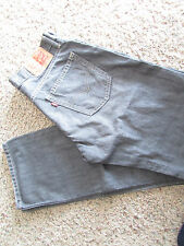 LEVIS 514 STRAIGHT FIT  JEANS MENS 34X34 GENTLY USED GRAY FREE SHIP