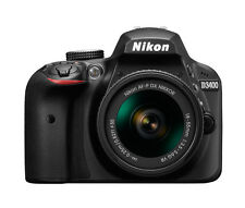 Nikon D D3400 24.2 MP Digital SLR Camera - Black (Kit w/ AF-P VR 18-55mm Lens)