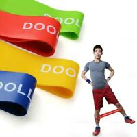 Practical Sport Resistance Loop Band Exercise Yoga Bands Rubber Fitness Training
