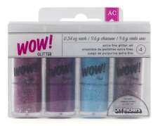 American Crafts 4-Pack Wow Extra Fine Glitter, Everyday 3
