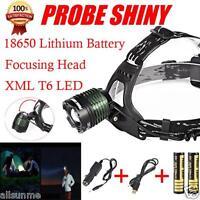 5000Lm XM-L XML T6 LED 18650 Headlamp Headlight Flashlight Head Light Torch