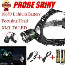 5000LM CREE XM-L XML T6 LED 18650 FARO DELANTERO Linterna LINTERNA FRONTAL luz