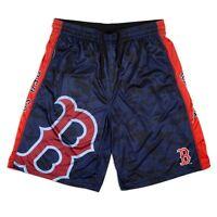 MLB Boston Red Sox Big Logo Polyester Gym Shorts