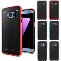 Hybrid Rugged Armor Shockproof Rubber Case Cover For Samsung Galaxy S7 / S7 Edge