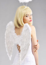 Adult Size White Feather Angel Wings