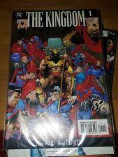 The Kingdom 5th Week Event Set Infinite Crisis by Mark Waid & more DC 1999