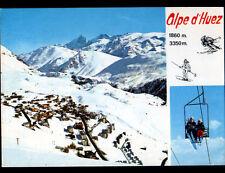 ALPE-D'HUEZ (38) CHALET & TELESIEGE animé en 1984