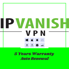 IP Vanish VPN 5 Years Warranty Up to 3 Devices Support