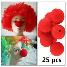 25pcs Red Nose Day Noses Foam Clown Noses Sponge Soft Circus Red Nose Day 2019