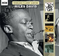 MILES DAVIS - Timeless Classic Albums (5 CD) NEW & SEALED from UK