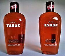 TABAC ORIGINAL Bade- & Duschgel Gel für Herren 2 x 400 ml  (EUR 28,13 / L)