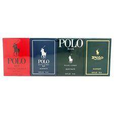 Polo World of Mini Coffret by Ralph Lauren 4 Pcs Travel Perfume Gift Set for Men