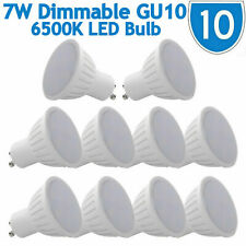 7W GU10 LED Light Bulbs Energy Saving Dimmable 230V Spotlight Lamps Downlight 65
