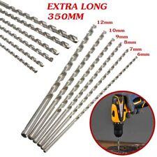 Spiralbohrer 6-12mm Bohrer HSS Stahlbohrer Extra Lang 350mm Metallbohrer Rounde