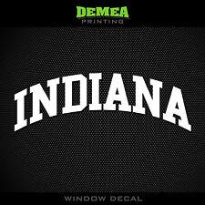 "Indiana - Hoosiers - NCAA - Vinyl Sticker/Decal 5"""
