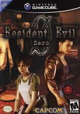 Resident Evil Zero 0 Complete in case w/ manual Black Label Nintendo GameCube