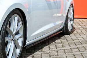 CUP 3 Seitenschweller aus ABS für Seat Leon 5F Facelift FR Cupra R ST 5Türer