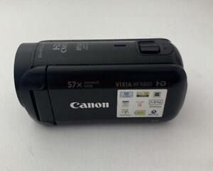 Canon Vixia HF R800 1080p Full HD Video Camera Camcorder A Stock Black