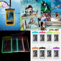 Swimming Waterproof Underwater Pouch Bag Pack Dry Case for iPhone smart Phone W8