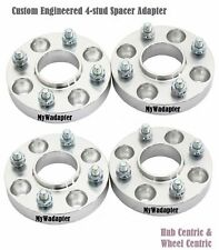 Wheel Spacer Adapters 15 & 25 mm 4x100 To 4x114.3 Hub Centric Honda Civic 4 PCS