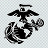 EAGLE GLOBE ANCHOR USMC MARINE CORPS VINYL DECAL STICKER