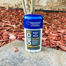 Kiss My Face DEO Natural Man All Day Energizing Sport Scent New