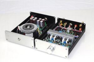 HIFI Split NAP250 MOD Stereo Power amplifier 80W+80W desktop amp + PSU      L8-8