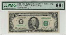 "1981 $100  Fr 2169-J PMG 66 EPQ ""NONE Graded Higher in PMG Registry"" !"