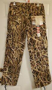 MOSSY OAK ladies cargo pants drawstring leg opening, side elastic waist size M