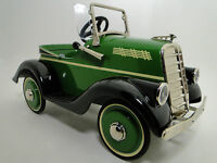 Pedal Car 1930 Chevrolet Hot Rod Rare Vintage Metal Collector >>READ DESCRIPTION