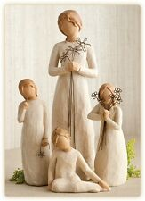Willow Tree Mother with 3 Daughters Figurines NEW