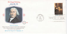 SIGNING OF DECLARATION OF INDEPENDENCE 1 STAMP FLEETWOOD CACHET & STORY U/A FDC