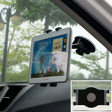 Windshield Car Mount Holder Rotating Suction For Samsung Galaxy Tab A/S2/S3