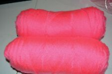 Southern Belle Mill End Yarn 14 oz Neon Pink  4 Ply Acrylic Color per Photo