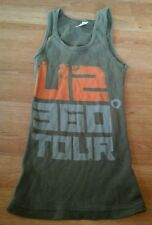 U2 - 360 Degrees Tour American Apparel  Sz Small Sleeveless  Awesome