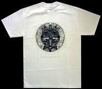 Psycroptic Circle Of The Lie White Shirt S-XL Officl Tshirt Death Metal T-Shirt