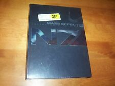 MASS EFFECT 3 Hardcover Collector's Edition XBOX 360 Playstation 3 Game Book NEW