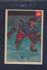 1954/55 Parkhurst #069 Bob Chrystal Rangers EX/MT *84