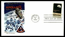 US FDC 1969 Apollo 8 Astronauts Space Fleetwood Texas First Day Issue