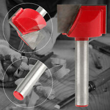 Woodworking Edge Cutter Router Bit CNC Carving Machine Cutting Tool 22mm * 6mm
